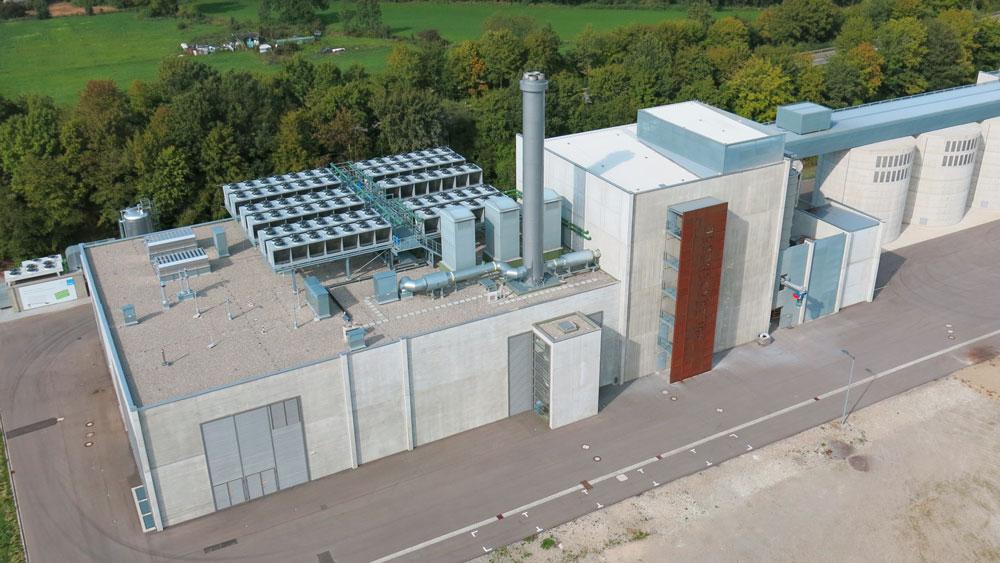 Luftaufnahme Bioenergiepark-Senden